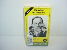 Mr Wong in Chinatown Vhs