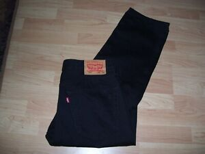 LEVI 516 MENS JEANS  SIZE 36 INS  (NOW REDUCED)