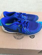 promo code a731f a5325 Nike Free Run 5.0 US Size 7Y 725104-400 running shoes boys youth blue
