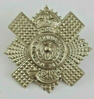 4/5th Royal Scots Volunteer Battalion Military Cap Badge - 2 Lugs to Rear
