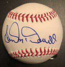 Sam McDowell signed ROML Baseball - Cleveland Indians - NY Yankees - SF Giants
