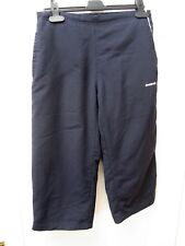 Reebok Vintage Retro 3/4 Length Track Bottoms Sz 10 Joggers HipHop Hipster 1990s