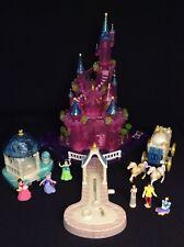 Polly Pocket Mini 💛 1995 - the Cinderella Castle Castle Cinderella (2)