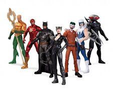 DC New 52 Action Figure 7 Pack Super Heroes Vs Super Villains Justice League