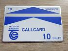 Test - Telefonkarte Irland  / CallCard 10 Units / VOLL-ungebraucht (mint)