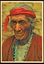 """ Saltwater Navajo Medicine Man Postcard Unposted."