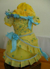 Robe pour poupée ancienne jumeau steiner sfbj porcelaine dress antique doll