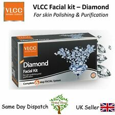 VLCC DIAMOND Facial Kit - 6 steps - For Healthy Skin &Skin Polishing- 45g + 5ml