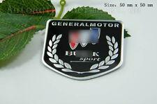 D362 Auto 3D Emblem for Buick schwarz  Badge Aufkleber PKW KFZ Car Sticker