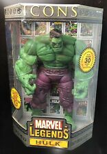 "ToyBiz Marvel Legends Icons Hulk 12"" Collector's Edition Action Figure Avengers"