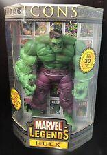 "ToyBiz Marvel Legends Icons Hulk 12"" Collector's Edition Action Figure Avengers"