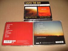 Saves the Day - Sound the Alarm/Stay What You Are (2008) 2 cd Set cds are Excell