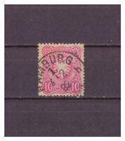 Deutsches Reich MiNr. 41 K 1 Hamburg 1 h 04.02.1882