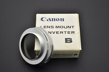 Canon Lens Mount Converter B Canon FL/FD Lens to L39 Rangefinder Adapter (#2963)
