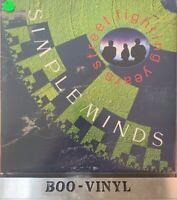 SIMPLE MINDS - STREET FIGHTING YEARS VINYL ALBUM LP RECORD 33rpm 1989 EX+