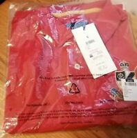 Joules Mens 212210 Embellished Polo Shirt London Bus Red Large  L