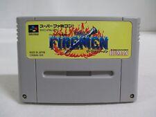 SNES -- THE FIREMEN -- Nintendo. Super famicom. Japan game. Work fully! 14403