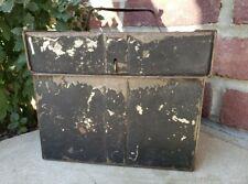 Vtg Antique Sap Spile Spout Maple Syrup Tap Hanger Lot/50 With Tin Tole Box