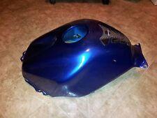 2003 2004 CBR 600 RR Gas tank cover fairing blue