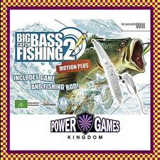 Big Catch Bass Fishing 2 Bundle (Nintendo Wii) Brand New