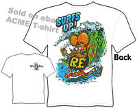 Surfs Up Rat Fink Shirts Big Daddy Clothing Ed Roth T Shirts Surfing Apparel Tee