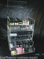 Acrylic Makeup Organizer Drawer Customized Stackable Luxury Cosmetic Storage Box
