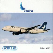 -  SCHABAK / SCHUCO  -  SATA  A320  (Airbus)  -  1:600  -  3551508  -  NEU