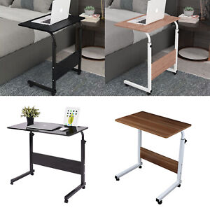 Portable Adjustable Laptop Table Sofa Bed Tray Computer Notebook Desk Trolley