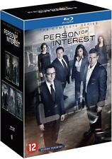 PERSON OF INTEREST Complete Series Blu-Ray Box Set NEW French Box/English Audio