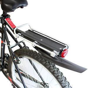 PEDALPRO ALUMINIUM REAR BICYCLE/BIKE/CYCLE CARGO BAG RACK & REFLECTOR & MUDGUARD