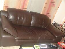 Ledersofa, Sofa 2 - Sitzig Leder Braun mit Seitenteilfunktion von W. Schillig