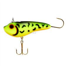 2 NEW Lindy Glow Streak Ice Fishing Lures Fire Tiger  5/16 oz LGSTK202