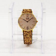 Ice-Watch ICE Madame watch Gold Ladies Quartz Watch Size Medium