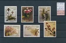 LL91879 Guyana 1987 plants flora flowers fine lot MNH cv 25 EUR