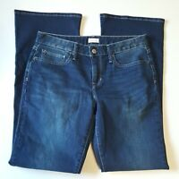 "Gap 1969 Women's 28 Long & Lean Jeans Flare Waist 32"" Inseam 33"""