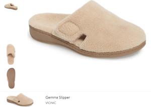 Vionic Gemma Tan Slide Slipper Sandal Women's sizes 5-12 NEW!!!