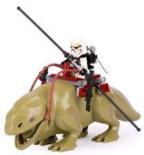 Dewback And Sandtrooper Minifigures Star Wars Custom Mini Figure