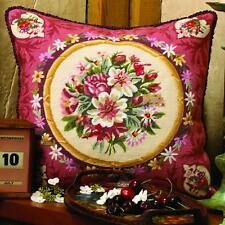 Glorafilia Tapestry/Needlepoint Kit - Abussion Flowers
