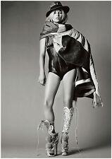 Cartel de impresión de arte/Lienzo Kate Moss Mario Testino Vogue Octubre de 2009