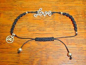 Jimmy Quiroga Designs Genuine Diamond Love Bracelet JQ Designs Macramé Bracelet