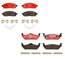Front and Rear Brembo Ceramic Brake Pad Set Kit For Ford F-150 Lincoln Mark LT