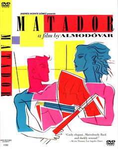Matador (DVD, 2009) Antonio Banderas, Nacho Martinez, Eva Cobo; Pedro Almodovar.