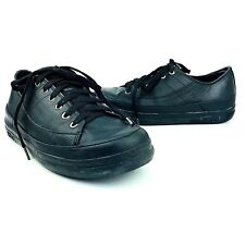 FitFlop Womens Shoes FF Supertone Black Leather 114-090 Lace Up Sneaker Fit Flop