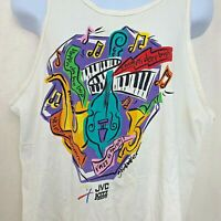 Vintage 1995 JVC Jazz Festival Sleeveless T Shirt Tank Hanes Music Graphic Large