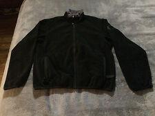 {LN} Mens S Small Nike ACG Therma-Fit Thermal Layer Black Full Zip Jacket Coat