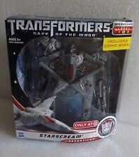 NEW 2010 TRANSFORMERS DARK OF THE MOON STARSCREAM TARGET LEVEL 2 VOYGER CLASS
