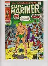 Sub-Mariner #33 FN+ january 1971 - 1st modern appearance of namora - bronze age