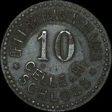 POW Camp-WWI: 10 Pfennig. Regio ufficiale prigionieri magazzino Castello celle/Hannover