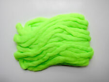 4 x 1,2m EGG YARN CHARTREUSE montage mouche oeuf fly tying material fish