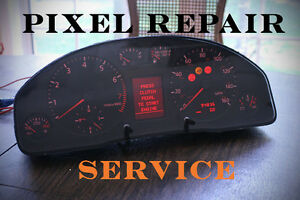 Audi (A3, S3, A4, S4, A6) and VW VDO Instrument Cluster LCD Repair